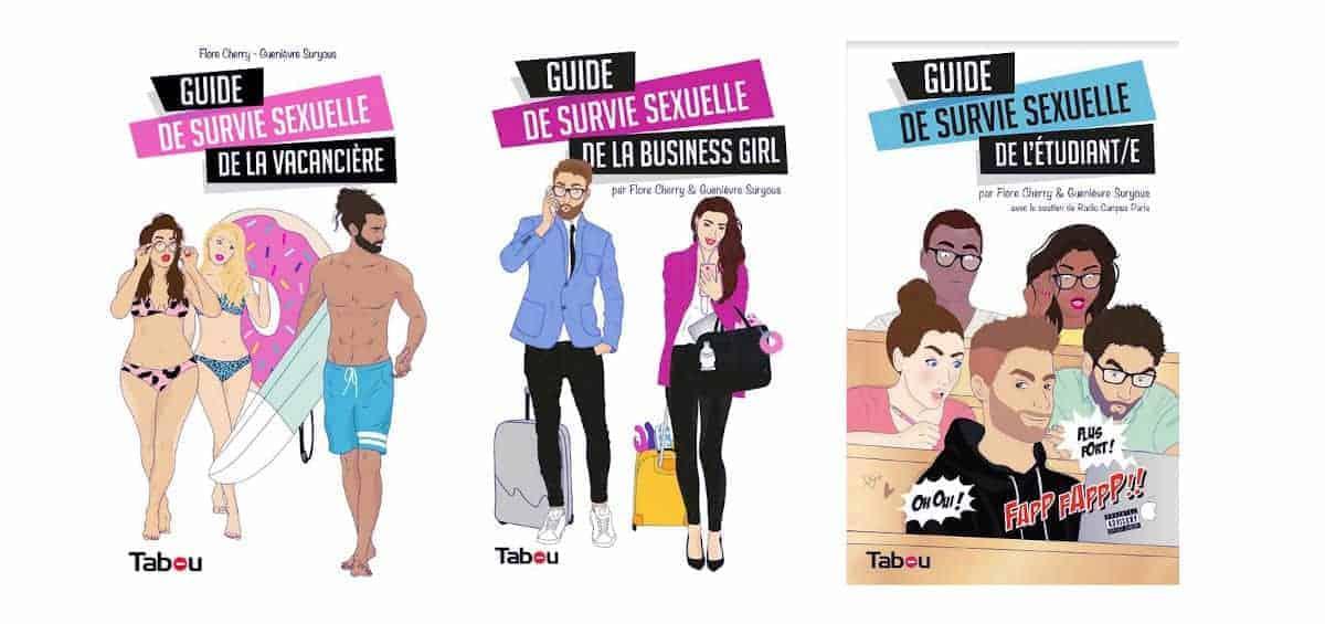 Découvrez les Guides de Survie sexuelle par Flore Cherry