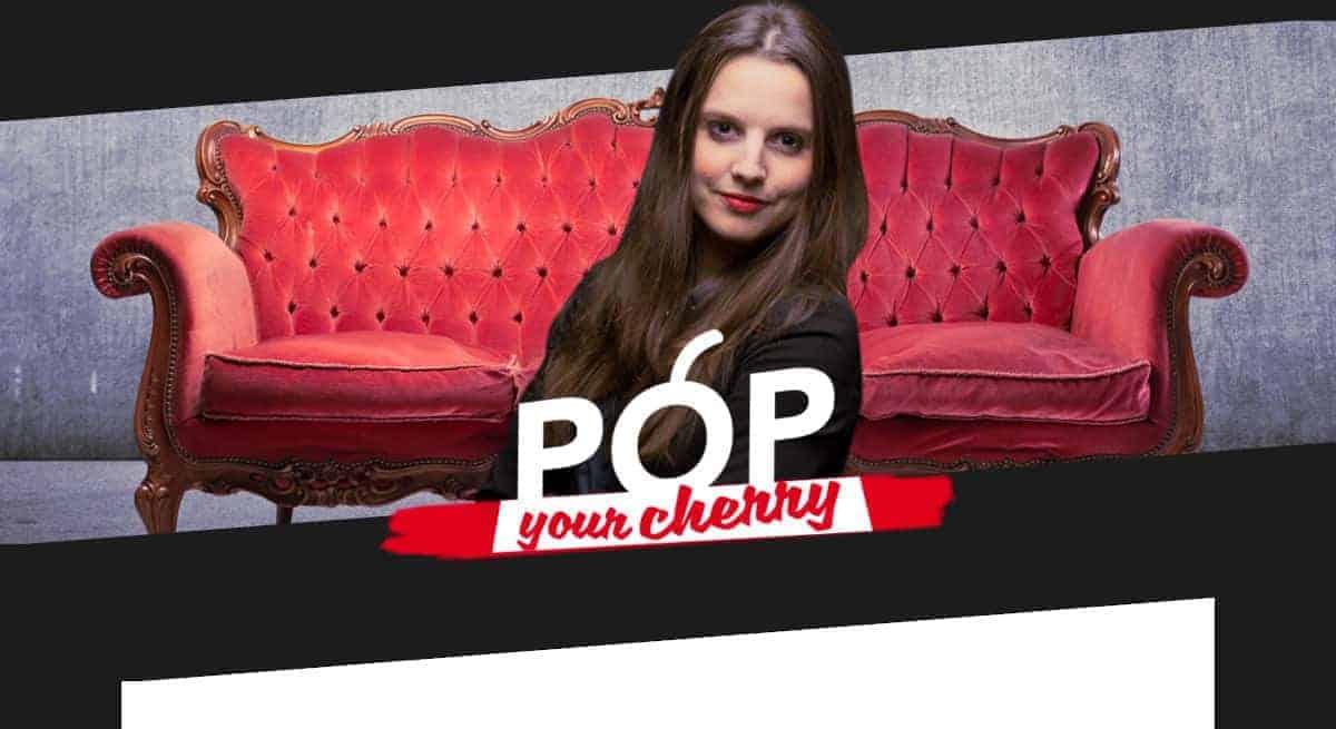 Flore Cherry vous parle de sexe sur son site PopYourCherry
