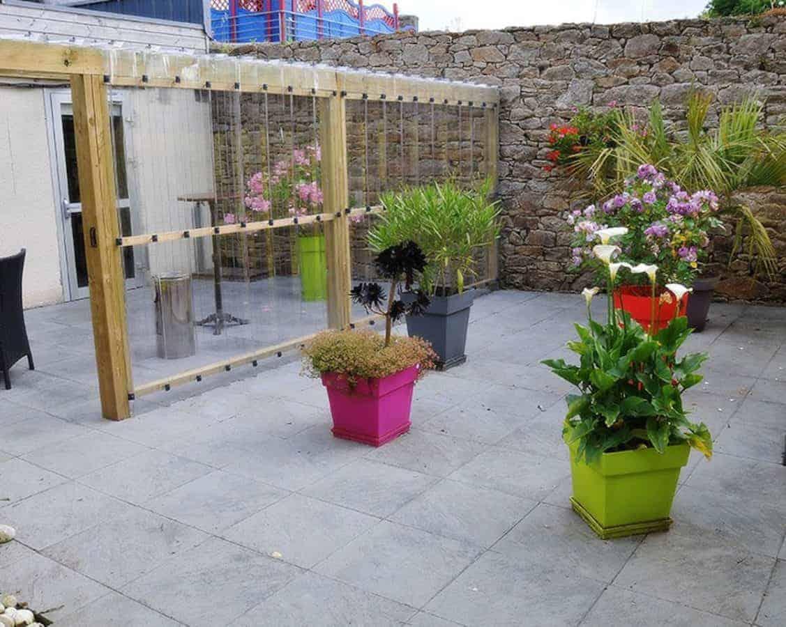 Une terrasse pour une bouffée d'air frais